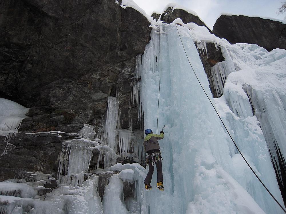 Cascate di ghiaccio