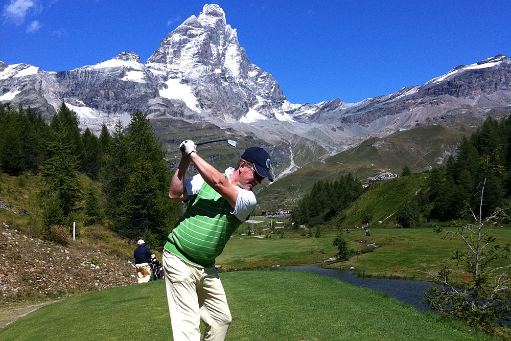 Golf in Valle D'Aosta