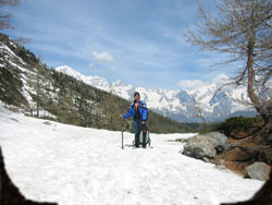 Lago D'Arpy inverno