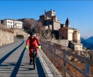 castelli in bici