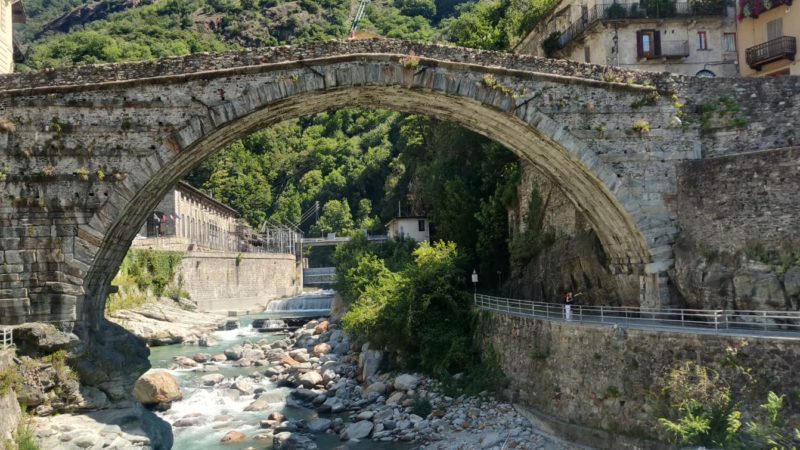 Le eterne bellezze della Roma delle Alpi.